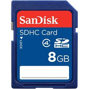 Cartão de Memória SanDisk SDHC - 8GB