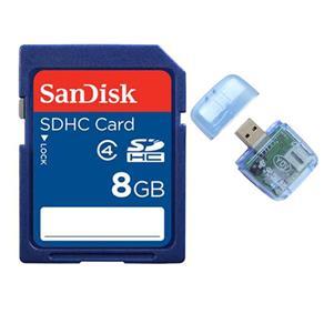 Cartão de Memória SD 8GB - SanDisk