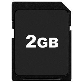 Cartão de Memória SD 2GB