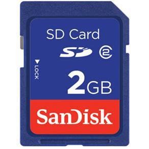 Cartão de Memória SD Sandisk SDSDB-2048-P36 2GB Azul