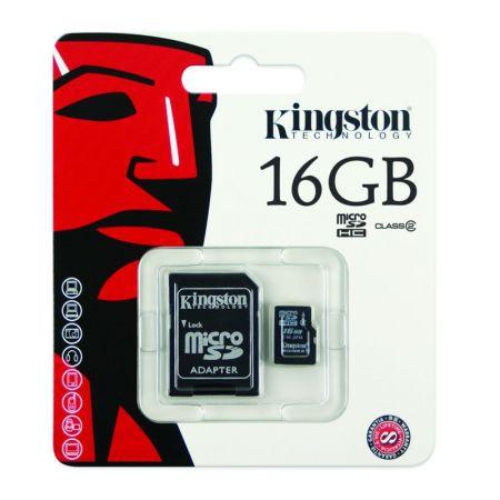 Cartão Memória Micro SD - 16gb - Kingston