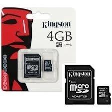 Cartão Memoria Micro Sd Kingston 4Gb