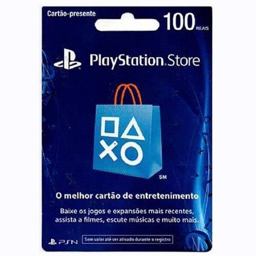 Tudo sobre 'Cartão Psn 100 R - Playstation Network Store Brasil'