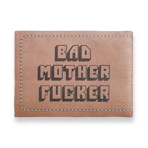 Tudo sobre 'Carteira Slim Bad Mother Fucker'