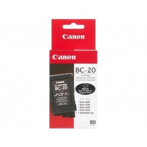 Tudo sobre 'Cartucho Canon Bc 20 Preto'