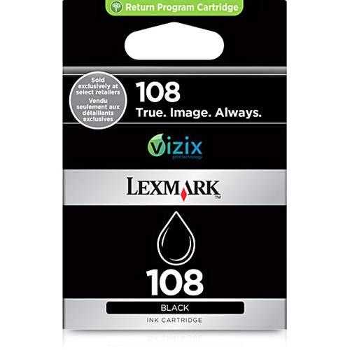 Tudo sobre 'Cartucho de Tinta 108 - Preto - Lexmark'