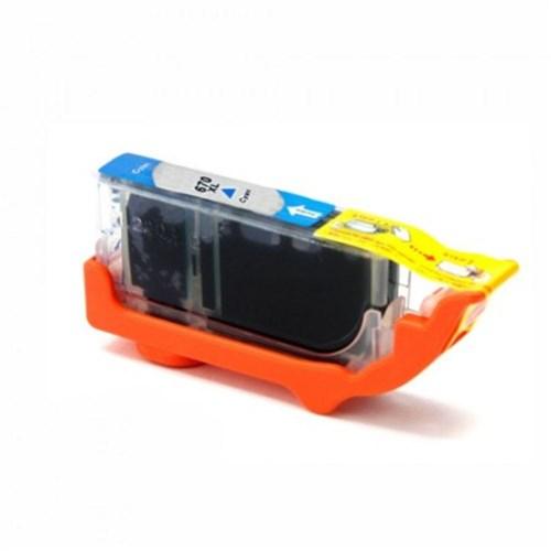 Cartucho de Tinta Cyan HP 670XL | 4625 | 4615 14ml Compatível