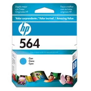 Cartucho de Tinta HP 564 CB318WL Ciano