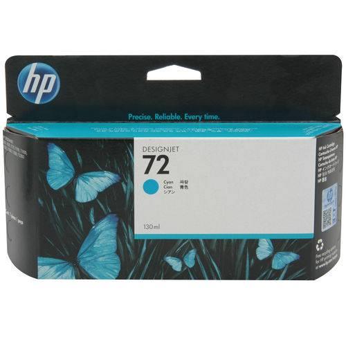 Cartucho de Tinta HP 72 C9371A 130ml - Ciano