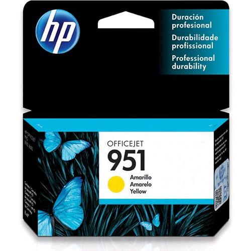 Cartucho de Tinta HP 951 Amarelo CN052AL - HP