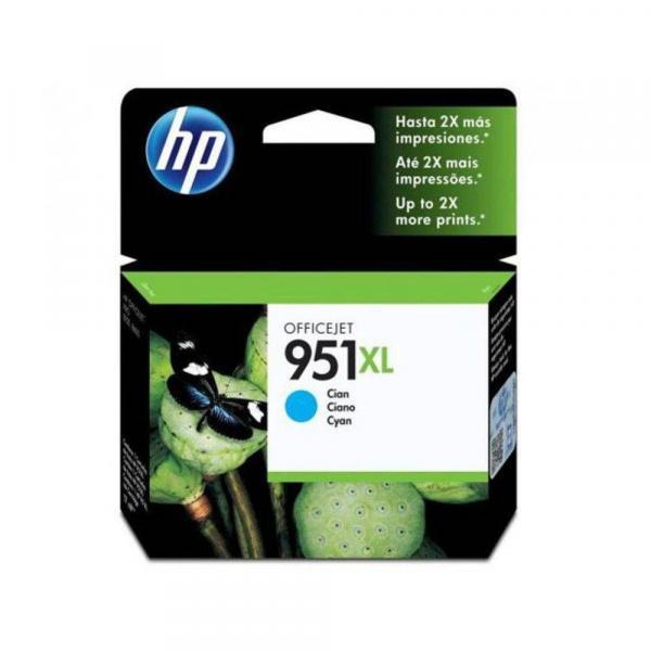 Cartucho de Tinta HP 951XL 8610 8620 8100 Ciano Original