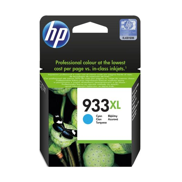 Cartucho de Tinta HP 933XL Ciano CN054AL Original 8,5ML