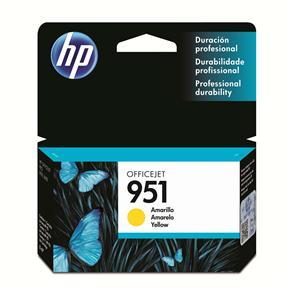 Cartucho de Tinta HP Officejet 951 CN052AL Amarelo
