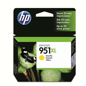 Cartucho de Tinta HP Officejet 951 XL CN048AL Amarelo