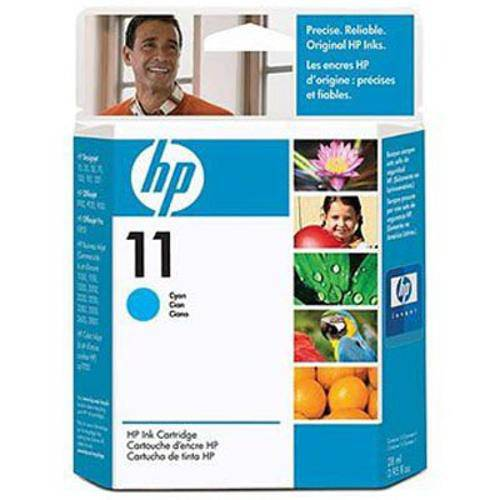 Cartucho de Tinta Officejet Hp Suprimentos C4836a Hp 11 Ciano 28ml