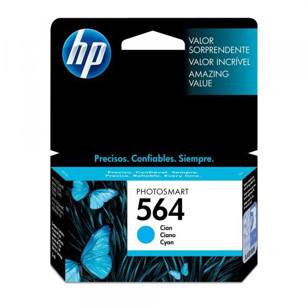 Cartucho HP 564 Ciano 3ml CB318WL
