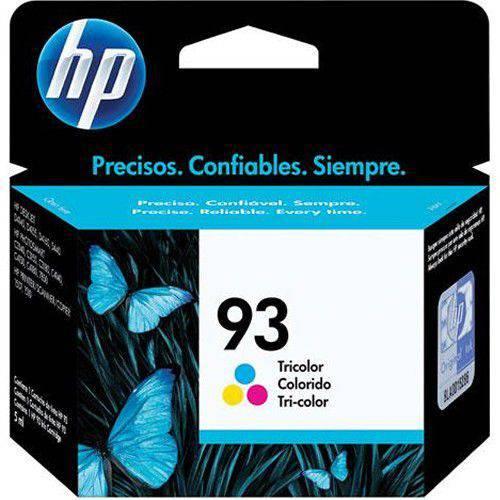 Tudo sobre 'Cartucho Hp 93 Colorido C9361wb'