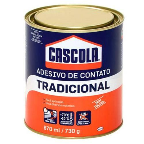 Cascola Tradicional Sem Toluol 870ml/730g Henkel