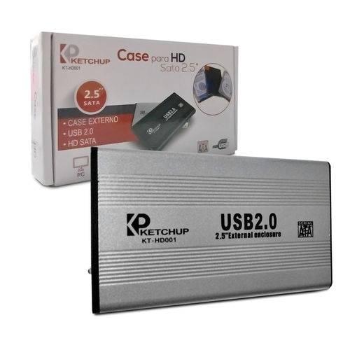 Tudo sobre 'Case P/ HD 2.5 USB 2.0 X10'