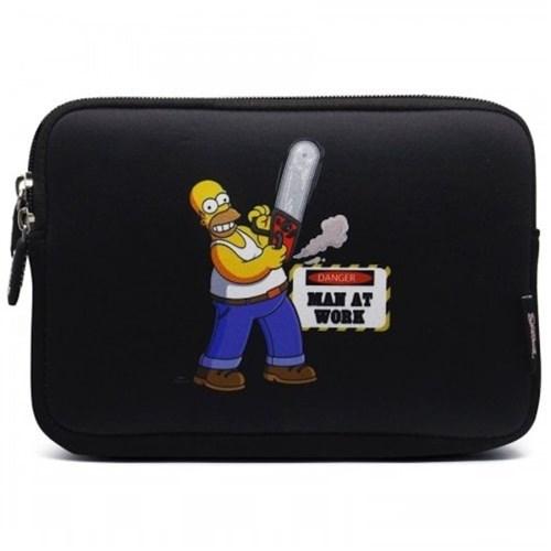 Case Sleeve Luva Macbook Notebook Chromebook 13.3 | The Simpsons | Hom...