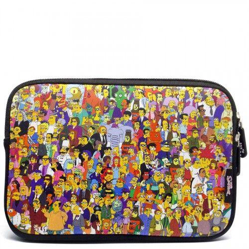 Case Sleeve Luva Ipad Tablet 7.9 | The Simpsons | Família Springfield