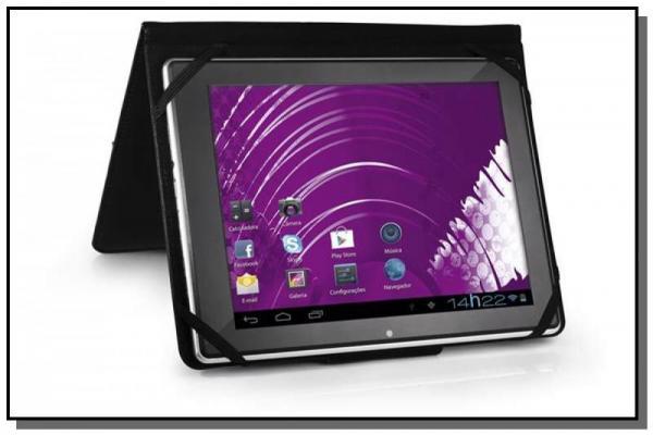 Case Universal para Tablet 7 Preto - Multilaser