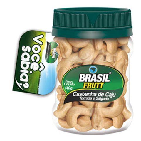 Tudo sobre 'Castanha de Caju 140g - Brasil Frutt'