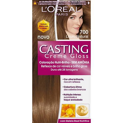 Tudo sobre 'Casting Creme Gloss 700 Louro Natural - L'oreal'