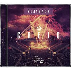 CD - Diante do Trono Creio - Playback