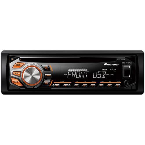 Tudo sobre 'CD Player Automotivo Pioneer DEH-X1680UB - Rádio AM/FM, Controle Remoto, Painel Destacável, Entradas USB e AUX'