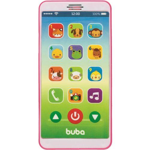Tudo sobre 'Celular Baby Phone Buba Rosa Musical'