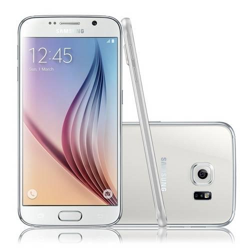 Tudo sobre 'Celular Desbloqueado Samsung Galaxy S6 Branco'