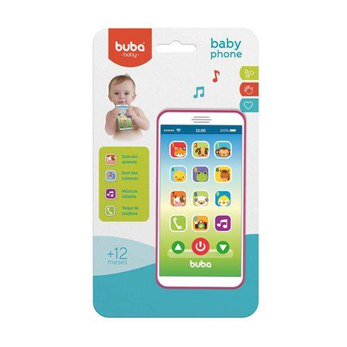 Tudo sobre 'Celular Infantil Baby Phone Rosa Buba Toys'