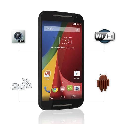 Tudo sobre 'Celular Motorola Moto G Dtv Colors Dual Preto Webfones'