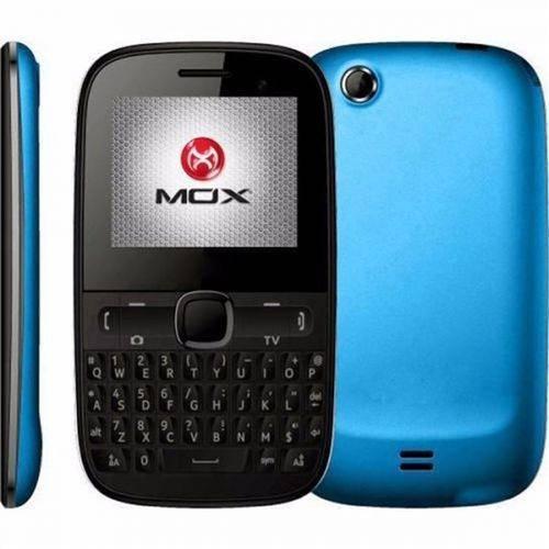 Tudo sobre 'Celular Mox W33 Wi-Fi, Radio Fm, Bluetooth Camera de 2.0, Mp3 e Mp4 Player - Azul/Preto'