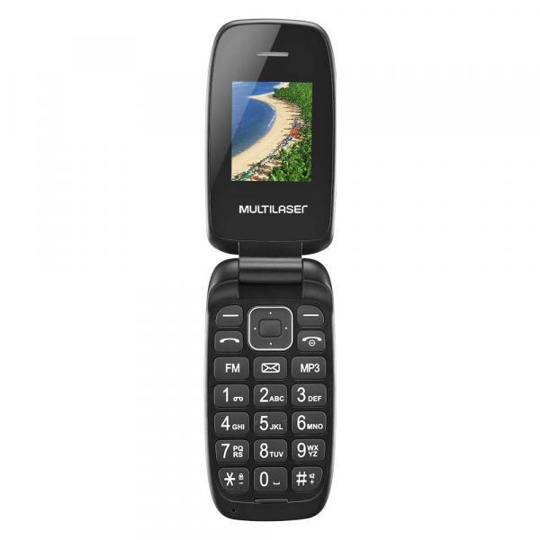 Celular Flip Up Dual Chip MP3 P9022 Preto Multilaser