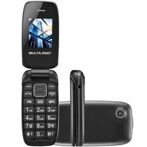 Celular Multilaser P9022 Bluetooth Dual Chip Mp3 com Câmera Lanterna