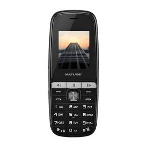 Celular Multilaser P9076, Dual Chip, MP3, Câmera, Lanterna - Preto