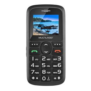 "Celular Multilaser Vita P9048, Dual Chip, 1.8"", USB, Bluetooth - Preto"