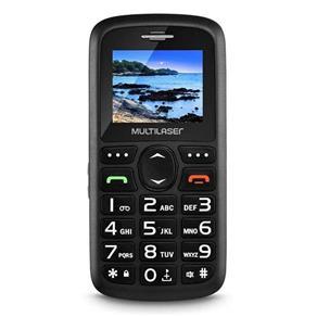 Celular Multilaser Vita P9048, Rádio FM/MP3 Player, Preto