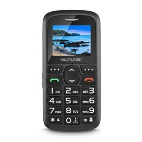 Celular para Idosos Vita 3 Multilaser P9048 - 2 Chips, Sos, Teclas Grandes