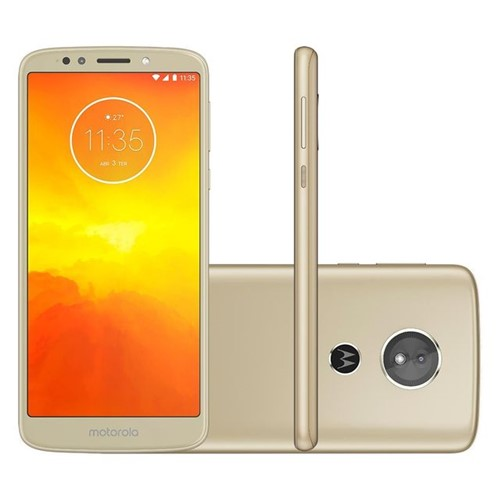 Celular Smartphone Motorola Moto E5 Dual Chip 5,7'' Ouro Ouro