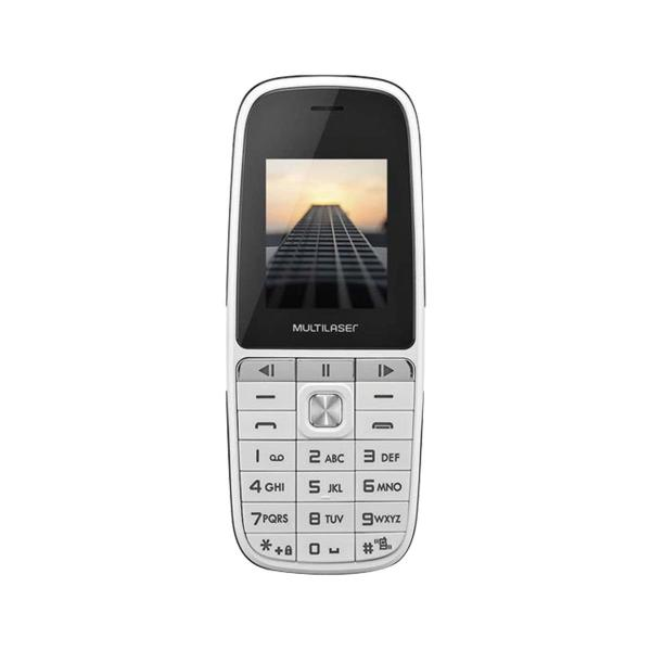 Celular UP PLAY Dual CHIP MP3 com Camera Branco - Multilaser - P9077
