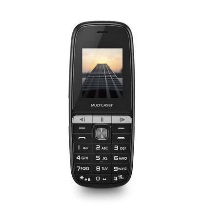 Celular Up Play Dual Chip Mp3 com Câmera Preto - Multilaser - P9076 P9076