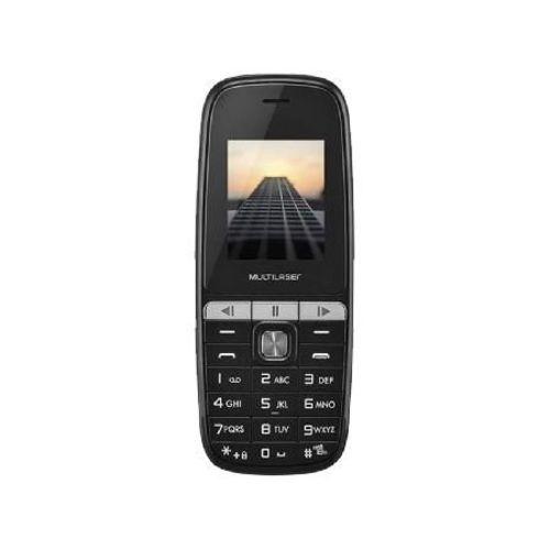 Celular Up Play Dual Chip Preto Tela 1,8 com Bluetooth P9076