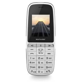 "Celular Up Play P9076 1.8"" Dual Bluetooth Branco MULTILASER"
