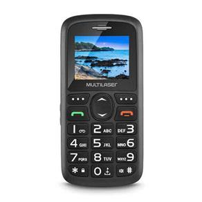 Celular Vita Dual CHIP Tela 1,8´´ USB e Bluetooth Preto Multilaser - P9048