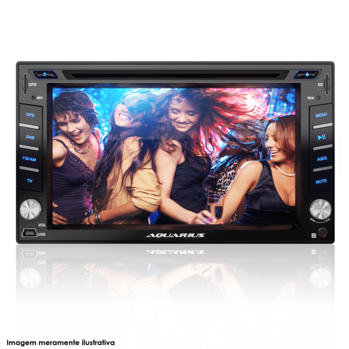"Tudo sobre 'Central Multimídia TV Digital 6.2"" MTC 6603, USB, Câmera de Ré, Auxiliar, Touch Screen, Micro SD e 50Wx4'"