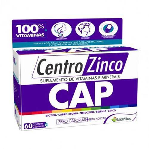 Tudo sobre 'Centro Zinco Cap 60 Capsulas'