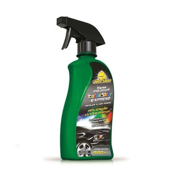 Cera Colorida Autoshine Express Verde 500ml
